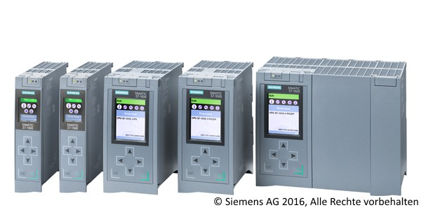 SIMATIC S7-1500 PLC Family