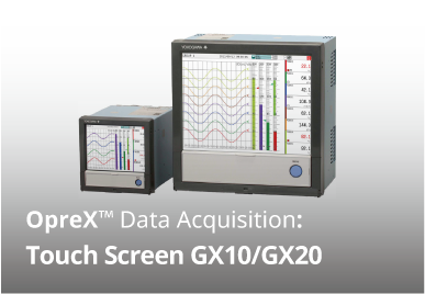 Paperless recorder GX/GP OPC-UA server