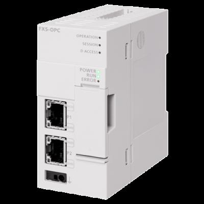 MELSEC iQ-F Series OPC UA server module