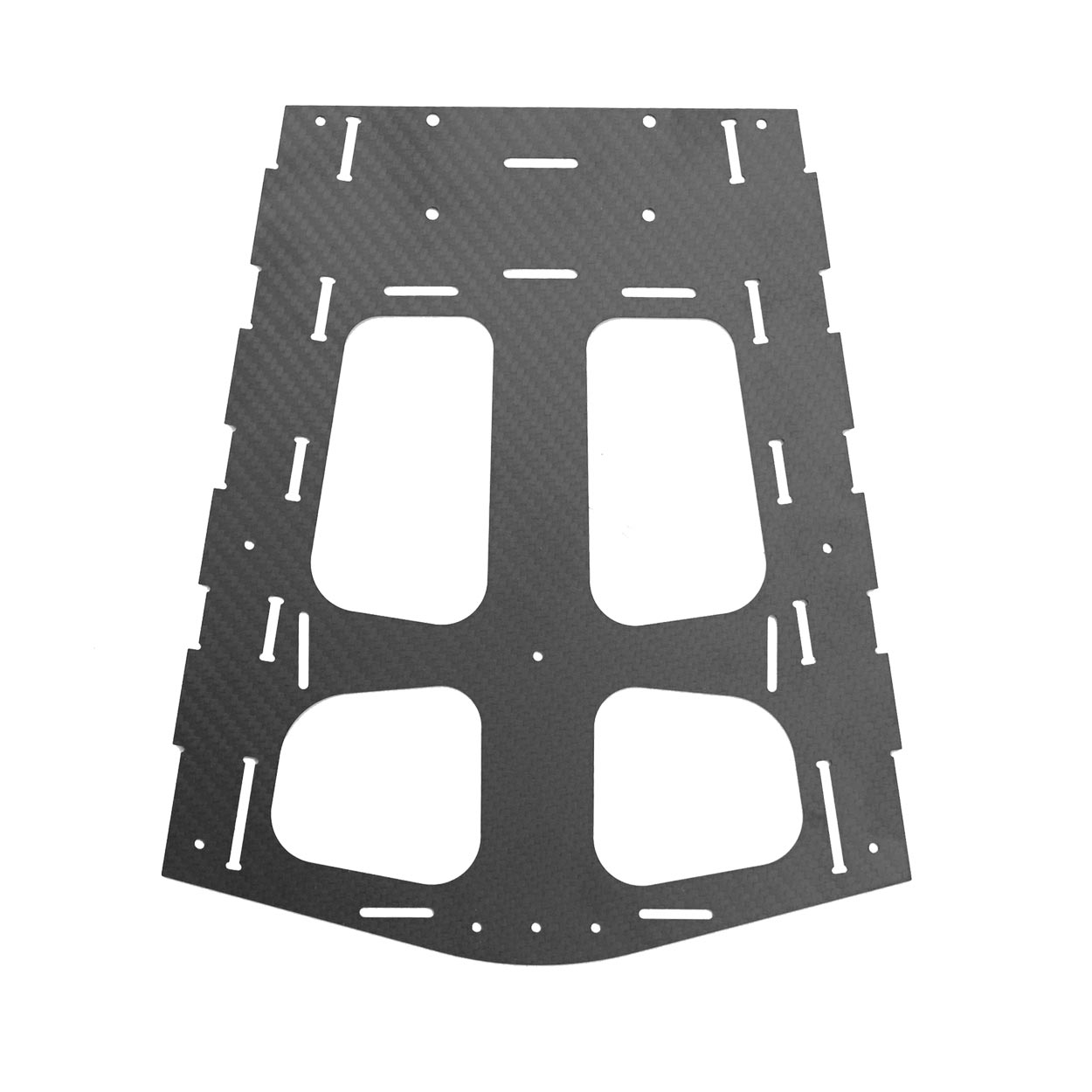 Replacement lower leg plate for the OpenPPG 22 v3.1 electric paramotor parts