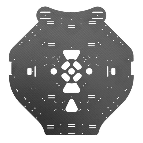A replacement center plate for the OpenPPG 22 v3.1 electric paramotor parts