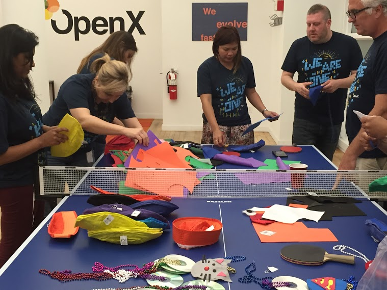 OpenX New York Volunteers