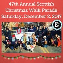 47th annual scottish christmas walk parade on saturday  december 2  2017