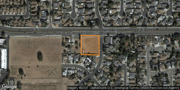 1 acre main street commercial pad site content