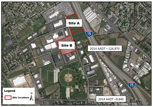 Business park sites a and b content