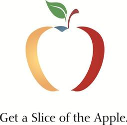 Get a slice of the apple small