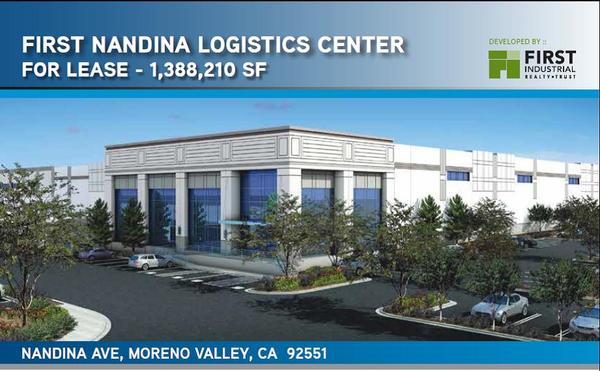 First nandina logistics center  nandina ave  moreno valley content