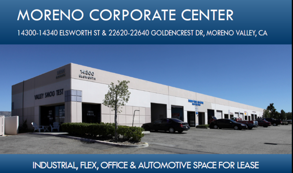 Moreno valley corporate center content