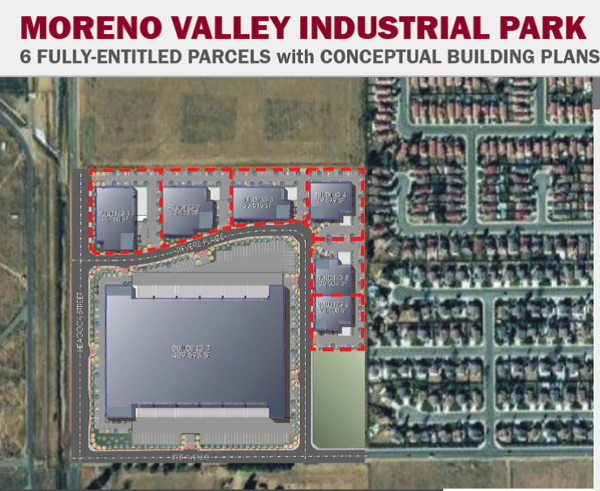 Moreno valley industrial park 2 content