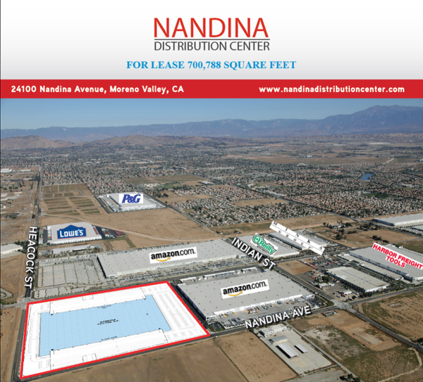 Nandina distribution center content