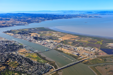 Aerial view of mare island full size small