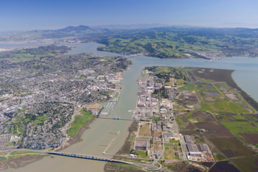 Aerial view vallejo small
