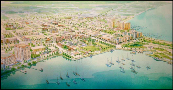 Master plan waterfront content