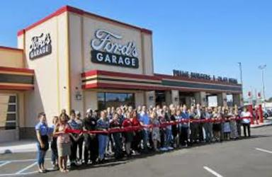 Fords garage opening small