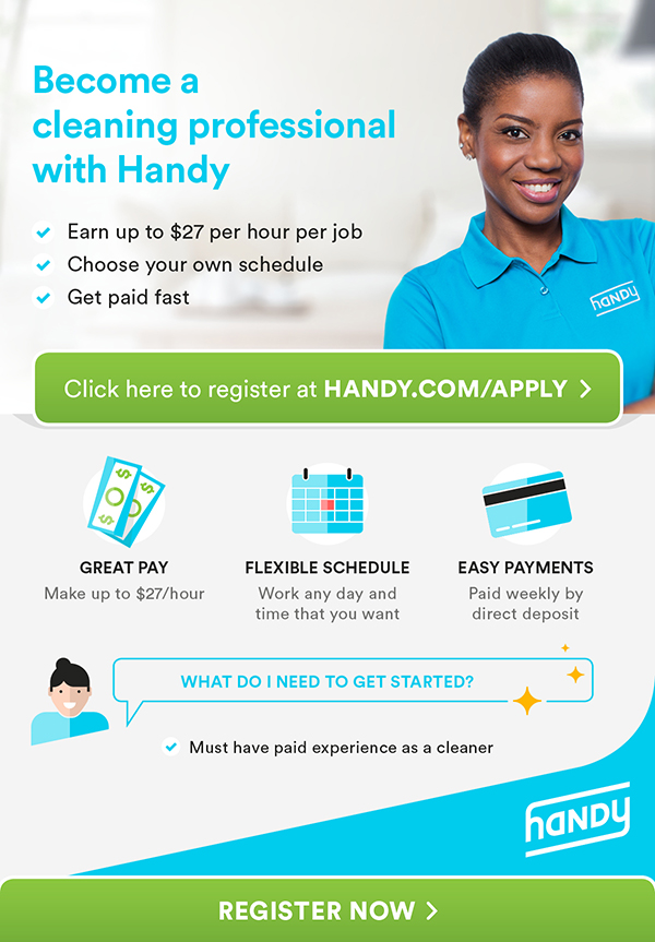 Nationwide Craigslist Search >> >>>EARN UP TO $27/HR PER CLEANING JOB ON THE HANDY PLATFORM!... : craigslist seattle | jobs ...