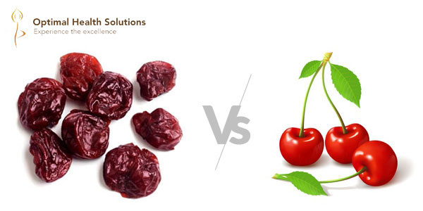 Tart Cherries vs. Red Cherries