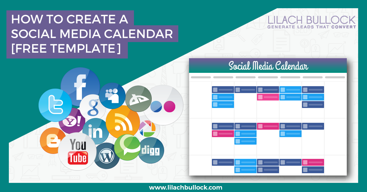 how to create a social media calendar free social media calendar