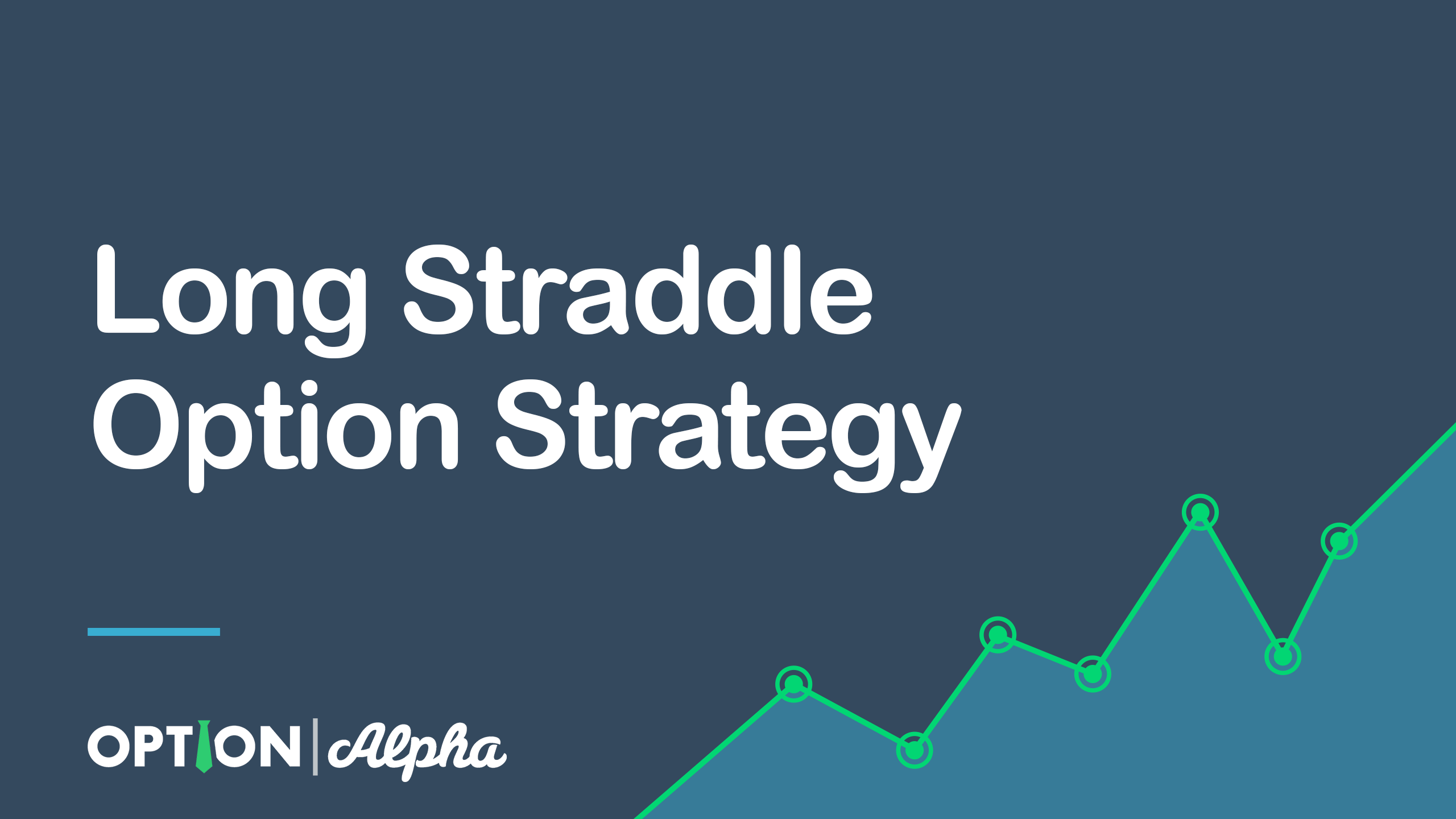 Straddle option trade