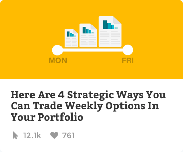 4 strategic ways you can trade weekly options in your portfolio