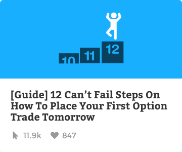 12 can't fail steps on how to place your first option trade tomorrow
