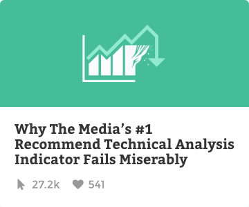 Why the media's #1 recommended technical analysis indicator fails miserably