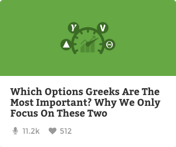 Which options greeks are the most important?