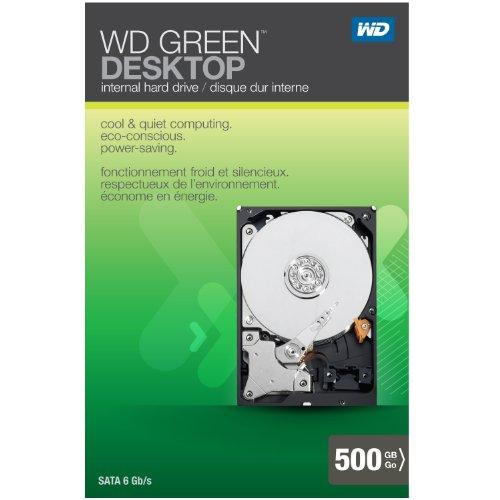 WD 500GB Caviar Green SATA Internal Hard Drive