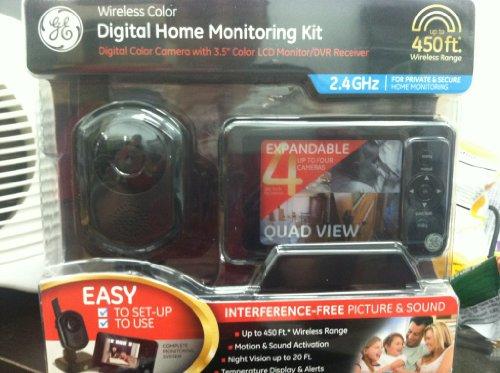9d744dc62646a ... GE Wireless Digital Home Monitoring Kit - 1 x Camera