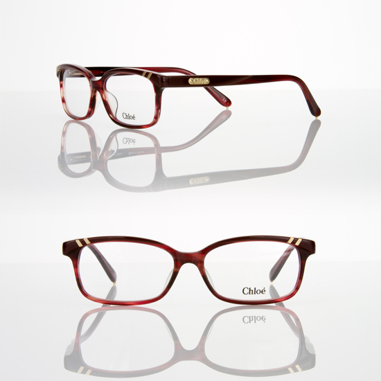 Chloe CL1204 Women\'s Eyeglasses Optical Frames- Red Horn - Check ...