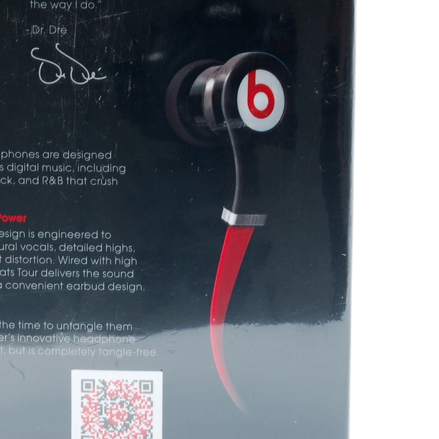 ... Beats by Dr. Dre Tour In-Ear Headphones Earbuds - Black (MH BEATS ... 308f04899257