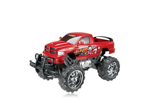 Radio Shack Dodge Ram Monster Truck Remote Control Car 1