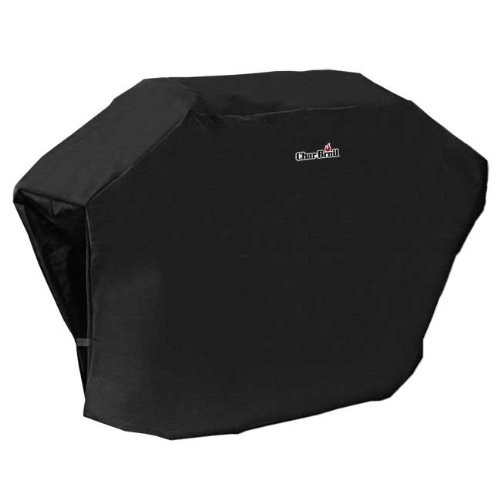 Char Broil Rip Stop 53 Inch Grill Cover Black 5454490 Check