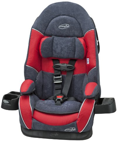 Evenflo Chase DLX Booster Car Seat Mars 3291971