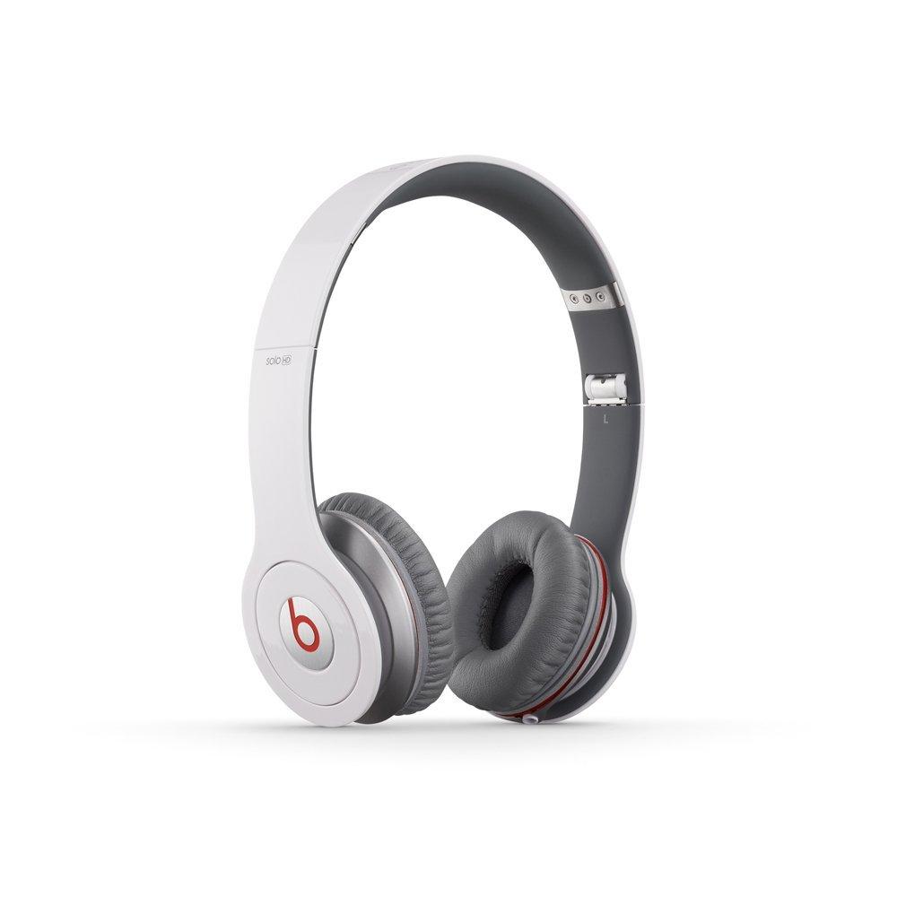 Beats by Dr. Dre Solo HD On-Ear Headphones - White - Check Back Soon ... dfc8c547099ec