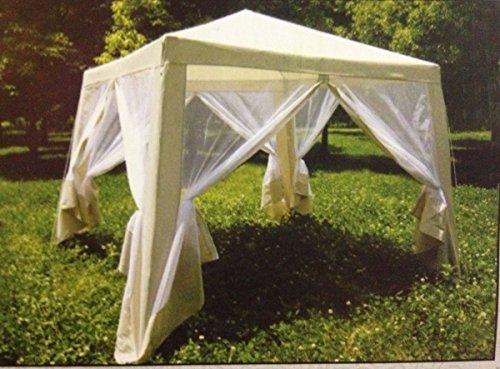 ... x 8u0027 Guidesman Screen House Gazebo Outdoor Party Tent - White - 8u0027 ... & Guidesman Screen House Gazebo Outdoor Party Tent - White - 8u0027 x 8 ...