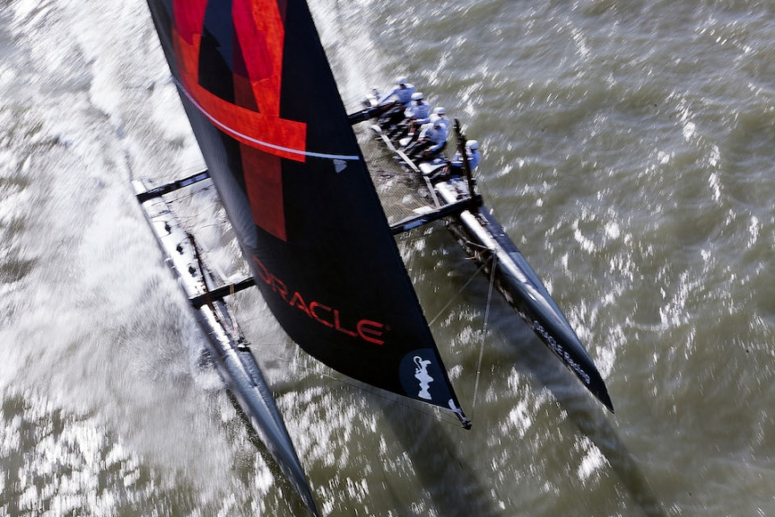 18/02/2012 - San Francisco (USA) - ORACLE Racing - Trainig ***18/02/2012 - San Francisco (USA) - ORACLE Racing - Training