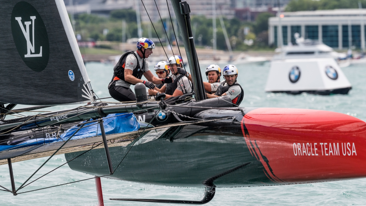 Chicago (USA) - 35th America's Cup Bermuda 2017 - Louis Vuitton America's Cup World Series Chicago - Racing Day