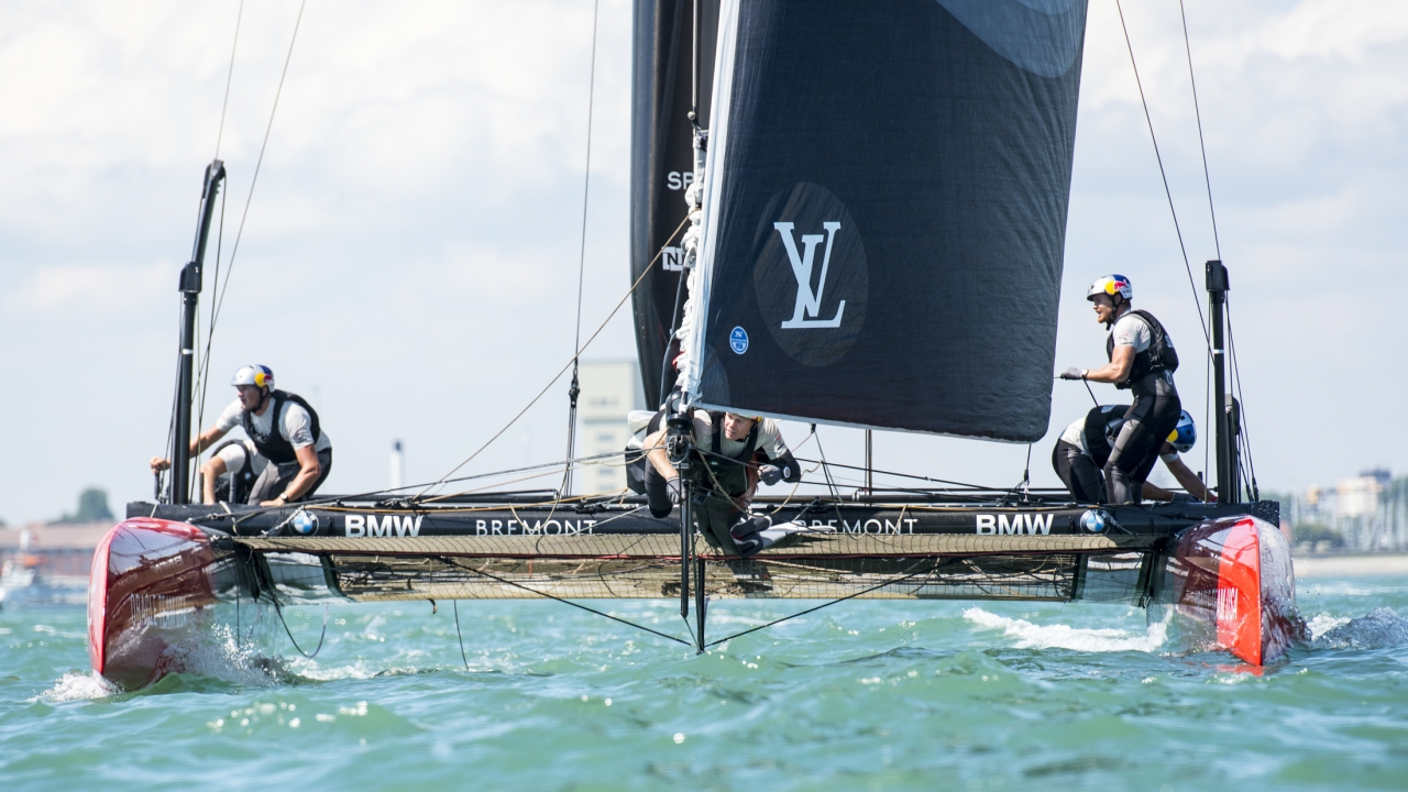 Portsmouth (UK) - Race Day 1, Day 1, 35th America's Cup Bermuda 2017 - Louis Vuitton America's Cup World Series New York - Setup Day &#x