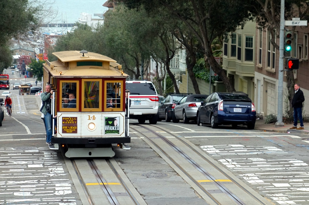 Cable Car in Fisherman's Wharf