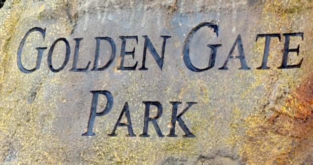 Golden Gate Park Sign