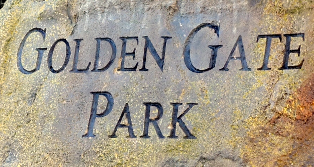 Golden Gate Park Sign