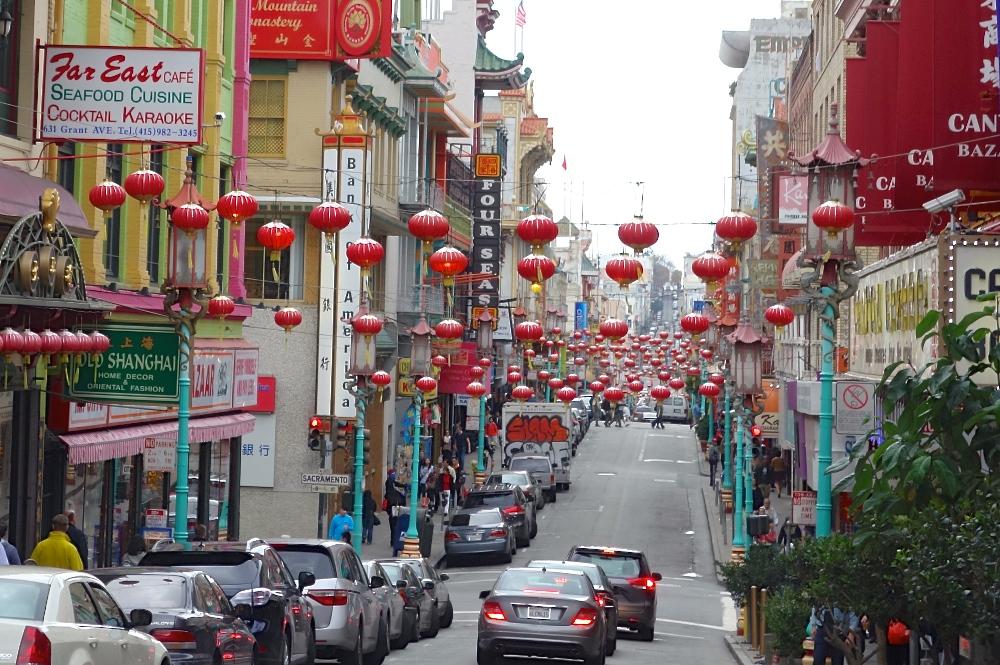 Chinatown's Grant Avenue