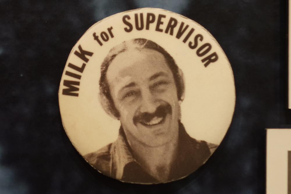 Harvey Milk for Supervisor Button