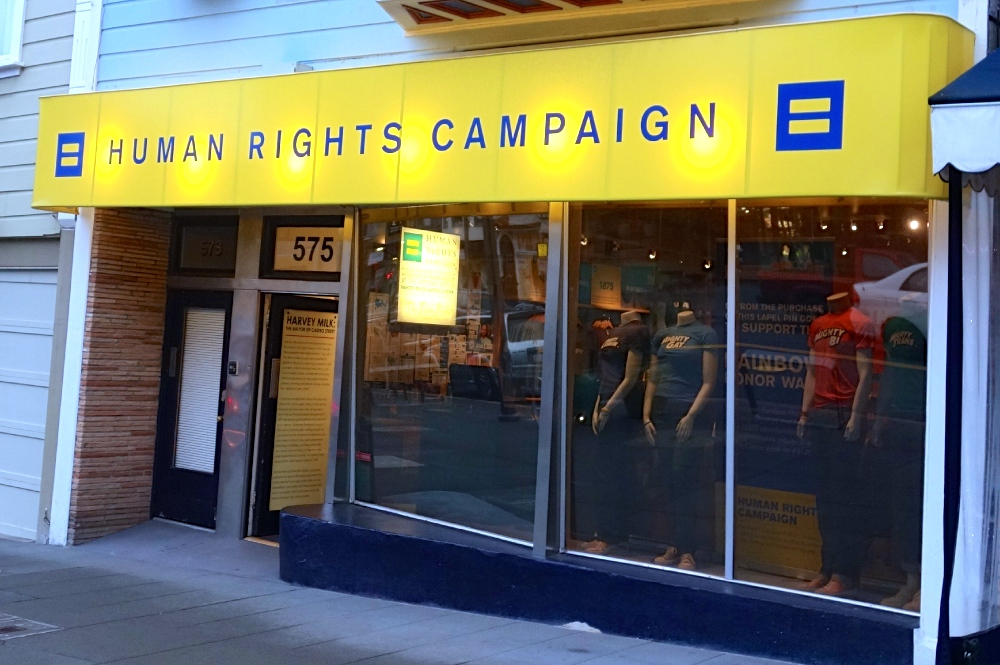 Human Rights Campaign Action Center Castro