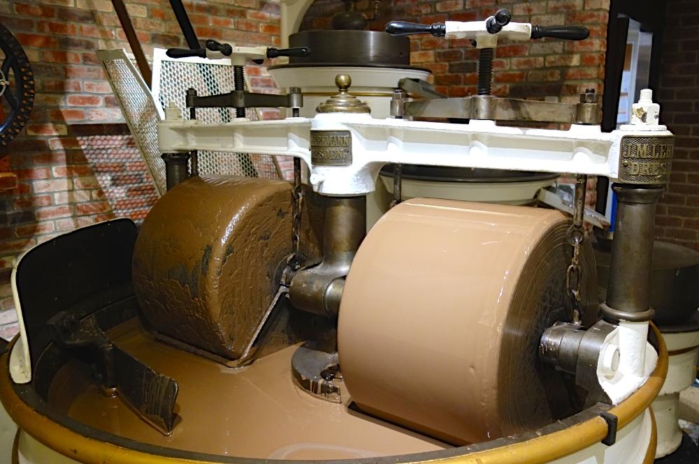 Ghirardelli Chocolate Machine