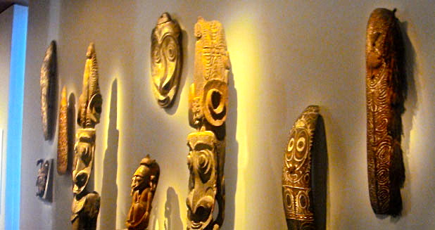 de Young Museum African Art, Golden Gate Park.