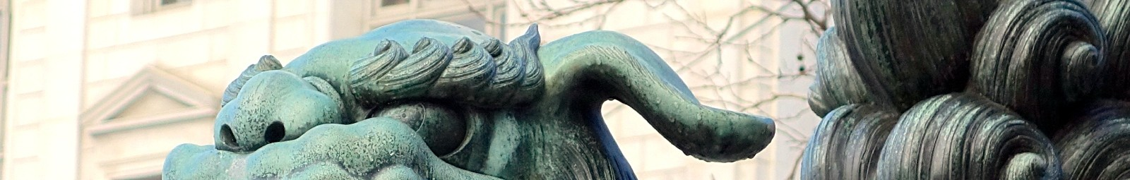 Asian Art Museum Statue