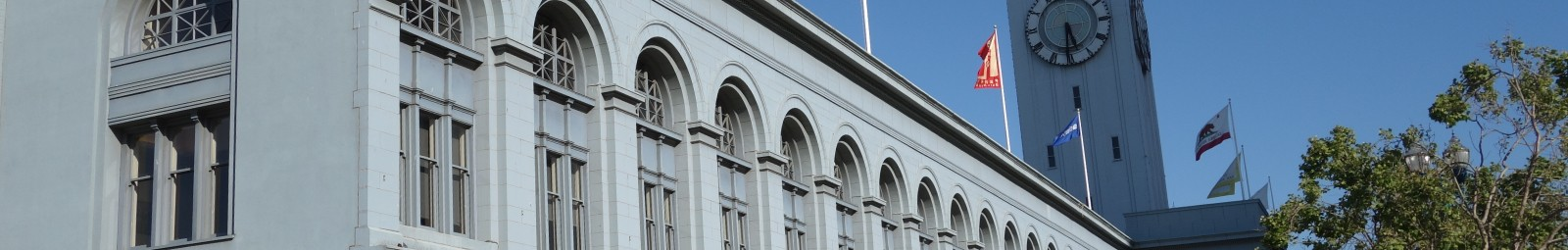 Ferry Building Facade