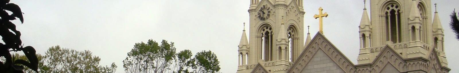 North Beach church in San Francisco.