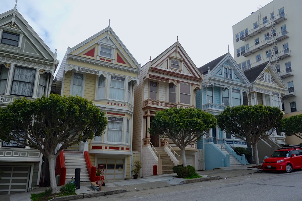Painted Ladies Front